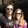 Ian Somerhalder receives Hero Goody Necklace representing Global Citizens