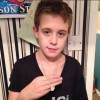 Mason Glazier (ISF) receives Hero Goody Necklace