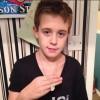 Mason Glazier (ISF) receives Hero Goody Necklace