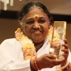 Humanitarian Amma ('The Hugging Saint') receives Golden Goody Award