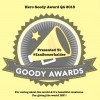 Goody Awards announces 20 Winners for Q4 2015