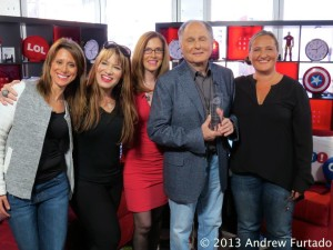 As part of a global marketing campaign for Comedy Gives Back, we honored Budd Friedman, Improv Founder, with our top award for 50 years of comedy and charity.