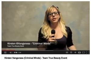 GoodyAwards_KristenVangsness_Video