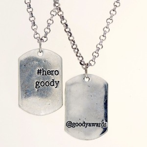 Goody Awards will donate up to 50% of Hero Goody Necklace profits to Free The Children