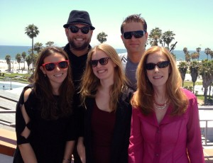 Social Good Thought Leaders at Silicon Beach Fest with Chris Brereton (hat)