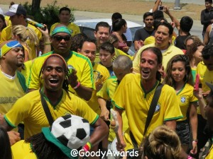 World Cup Brazil Fan Celebration