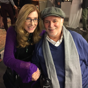 Ron Kovic with Goody Awards Founder Liz H Kelly at the 10th Annualy My Hero International Film Festival