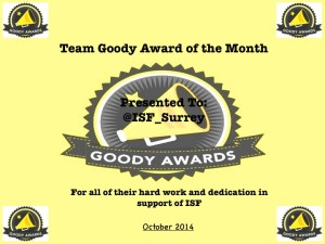 Goody Awards of the Month