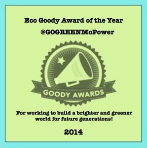 Eco Goody Award of the Year 2014