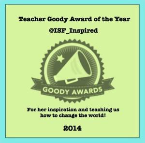 Teacher Goody Award of the Year 2014