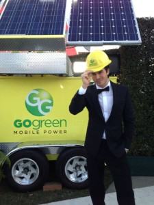 Ian Somerhalder (Vampire Diaries) supports GO GREEN Mobile Power