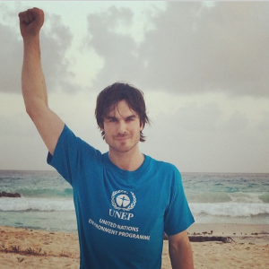 UN Goodwill Ambassador & Actor Ian Somerhalder
