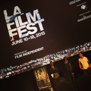 """Congratulations @brynmooser for winning #FilmGoodyLA #GoodyAwards for your film """"Sweet Mickey for President"""" shown at the LA Film Fest"""